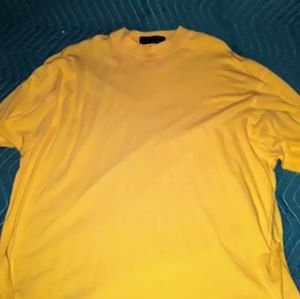 SMITH & TWEED quality yellow crew neck XL sweater